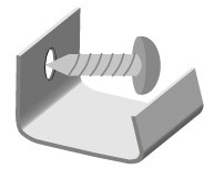 Montagehilfe inkl Schraube