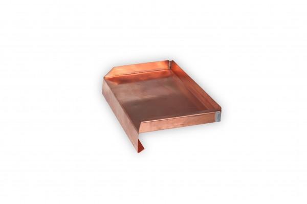 Fensterbank Kupfer Ausladung 180 mm