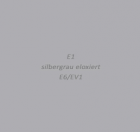 Silber (EV1 eloxiert)