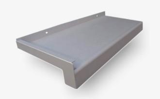Fensterbank 9007 | 280 mm Ausladung | 40 mm Tropfkante