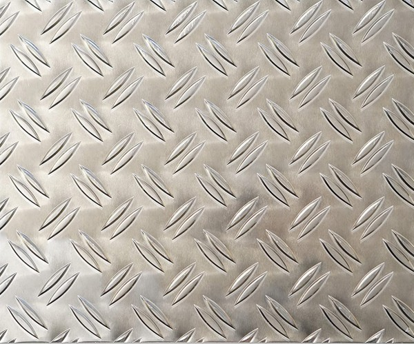 Aluminium Riffelblech duett 2,5 / 4,0 mm