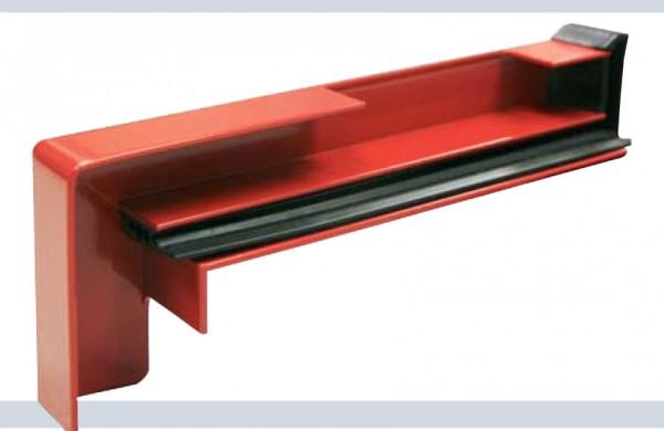 Gleitendkappenpaare Aluminium RAG2 mit Ausklinkung
