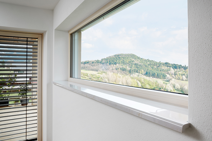 Gussmarmor Fensterbank exclusiv | Fensterbankprofi