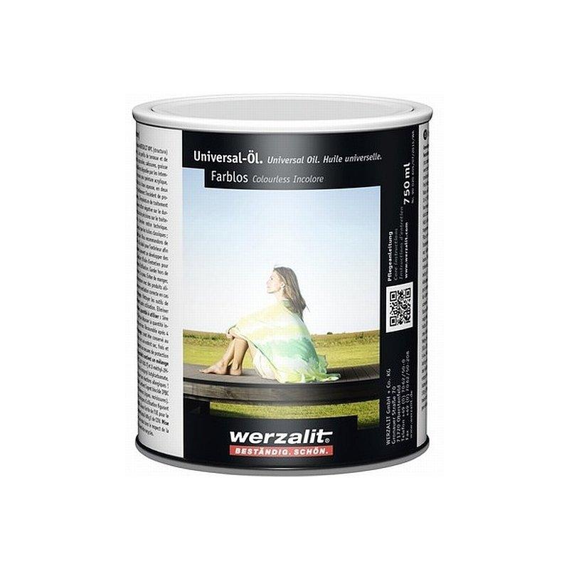 Werzalit Pflegeöl 0,75 l (farblos) | Fensterbankprofi