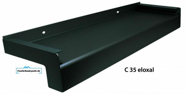 Aluminium Fensterbank C 35 | 130mm Ausladung