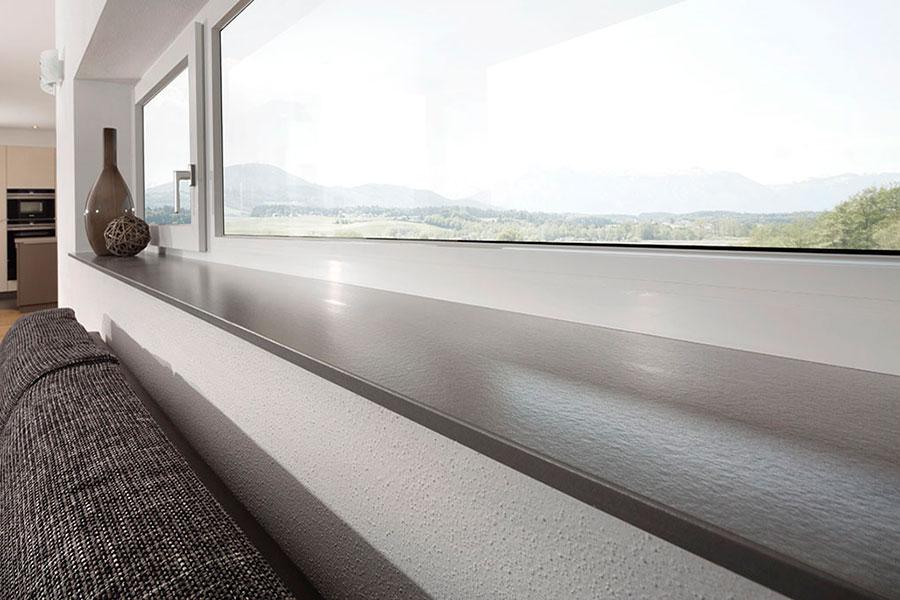 Gussmarmor Fensterbank helopal puritamo | Fensterbankprofi