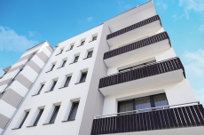 Balkonverkleidung Werzalit roma 205 Kurzprofil-